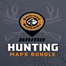 WMZ 10 New Brunswick Hunting Topo Map Bundle