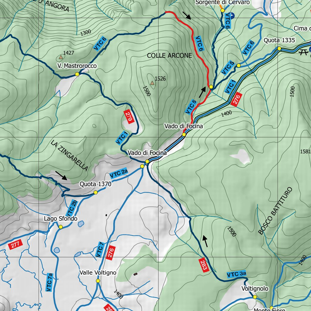 Cartina 1400.Voltigno Trail Centre Carta Sentieri Voltigno Trail Centre Avenza Maps