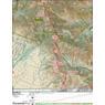 ANST Topo Map 1-1 Huachuca Mountains 1