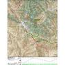 ANST Topo Map 19-1/18-4 Superstition Wilderness 1
