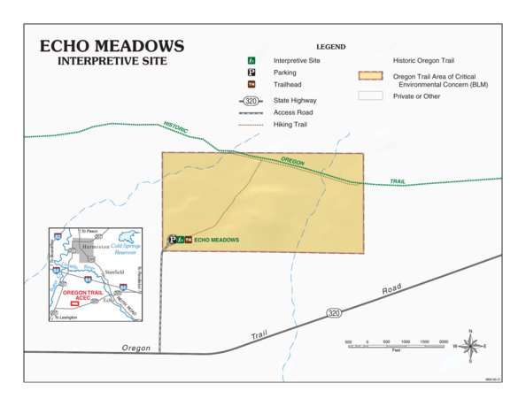 Echo Meadows Interpretive Site Bureau Of Land Management Oregon