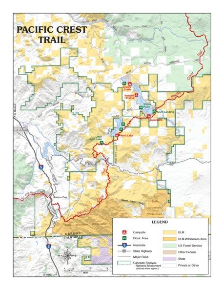 Pacific Crest Trail- Southern Oregon - Bureau of Land Management ...