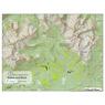Seaton Ridge and Blunt Range Hiking Trails Map