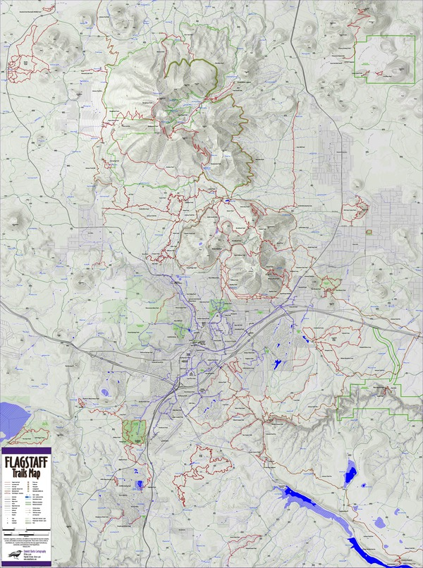 Flagstaff Trails Map