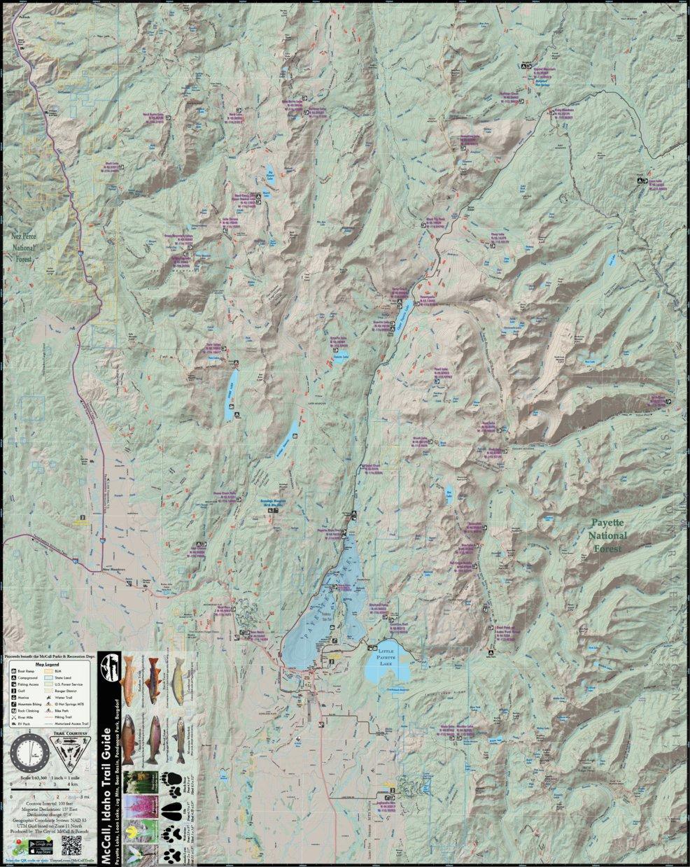 Mccall Idaho Trail Guide Free City Of Mccall Avenza Maps