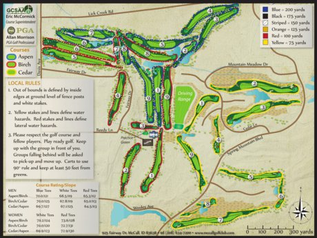 City Of Mccall Mobile Golf Course Map City Of Mccall Avenza Maps