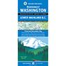 Northwest Washington and Lower Mainland British Columbia Recreation Map