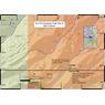 Dry Fork Escalante Creek Gold Prospecting Map, Mesa County, Colorado