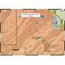 Bullfrog Reservoir Gold Prospecting Map, Montrose County, Colorado
