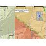 Middle Fork Escalante Creek Gold Prospecting Map,Mesa County, Colorado