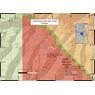 Cottonwood Creek Gold Prospecting Map,Montrose County, Colorado
