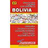Mapa de Rutas y Caminos de la República de Bolivia