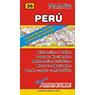 Mapa de Rutas y Caminos del Perú