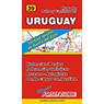 Mapa de Rutas y Caminos de Uruguay