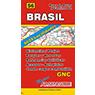 Mapa de Rutas y Caminos de Brasil
