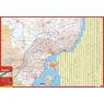 Mapa de Rutas y Caminos de Brasil Sur