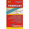 Mapa de Rutas y Caminos de Paraguay