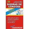 Mapa de Rutas de las Sierras de Córdoba