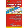 Mapa de Rutas y Caminos de Santa Cruz y Tierra del Fuego