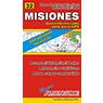 Mapa de Rutas y Caminos de la Provincia de Misiones