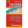 Mapa de Rutas y Caminos de Colombia y Ecuador