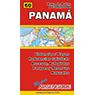 Mapa de Rutas y Caminos de Panama