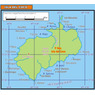 Mapa de la Isla Del Coco