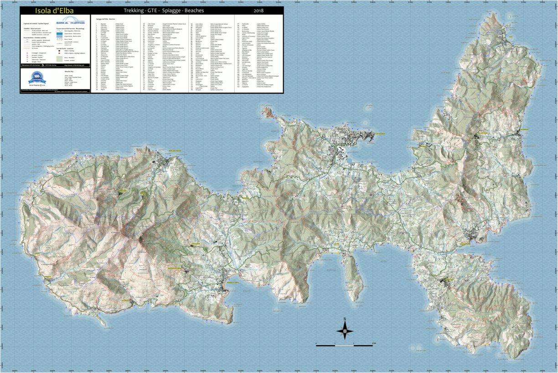 Isola dElba Trekking 2018 Boreal Mapping Avenza Maps