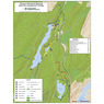 Clarence Fahnstock State Park Site Map - Canopus Lake Area