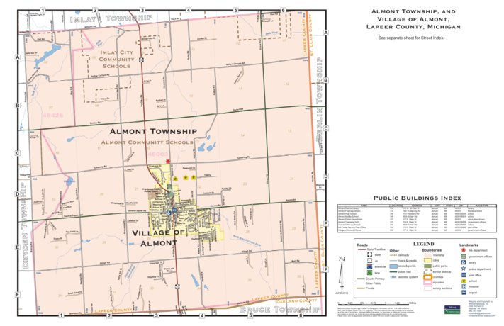 Almont Township Lapeer County Mi Milne Enterprises Inc