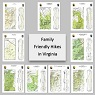 Family Friendly Hikes in Virginia (9-Map Bundle)