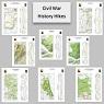 Civil War History Hikes (8-Map Bundle)