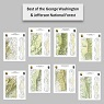 Best of the George Washington & Jefferson National Forest (8-Map Bundle)