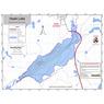 Hawk Lake Bathymetric Chart