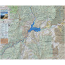 Kern River Sierra Outdoor Recreation Topo Map, South Side