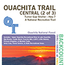 Ouachita Trail Central (2 of 3), Turner Gap Shelter to Hwy 7