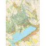 VELENCEI-hegység, Velencei tó turistarékép / tourist map