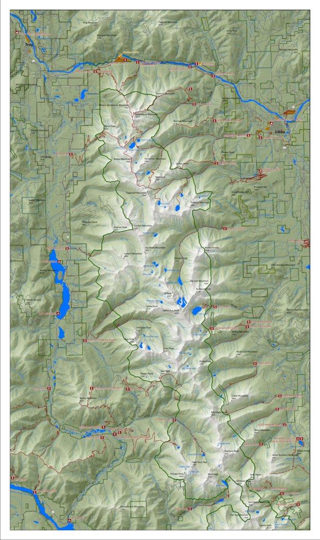 Cabinet Mountains - North - Montana Wilderness Association ...