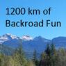 Okanagan CBDR - 1200 km loop, best version for Camping