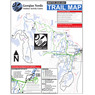 Georgian Nordic Outdoor Activity Centre: Winter Trail Map 2020-2021