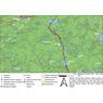 Algonquin Provincial Park -  Lower South Map Part 1