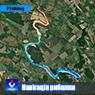 Ладижинське водосховище. (р.Південний Буг). Вінницька область. Карта глибин.
