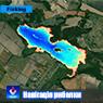 Петрик озеро. с.Петрик, Вінницька область. Карта глибин