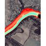 13. Південний Буг річка. (с.Сутиски) Вінницька область. Карта глибин