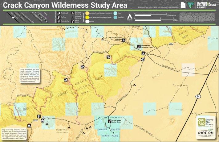 BLM Utah Crack Canyon Wilderness - Bureau of Land Management - Utah ...
