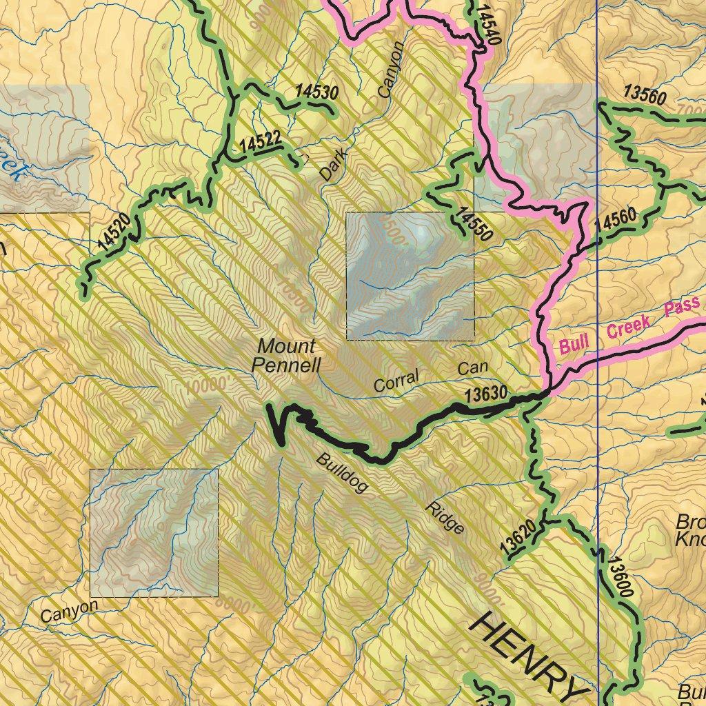 BLM Utah Henry Mountains - Bureau of Land Management - Utah - Avenza ...