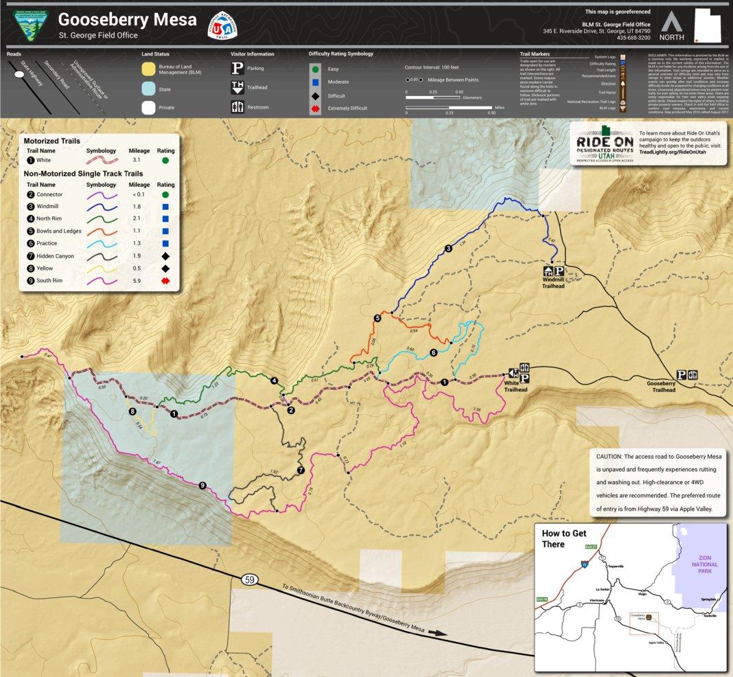 BLM Utah Gooseberry Mesa - Bureau of Land Management - Utah ...