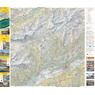 Sion-Derborence Sanetsch, 1:25'000, Hiking Map
