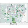Mississauga Cycling Map 2021 Malton Inset