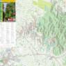 Šuma Marča Turistička karta Pješački putovi - Forest Marča Tourist Map Hiking Trails